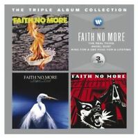 FAITH NO MORE Triple Album 3CD NEW The Real Thing/Angel Dust/King For A Day