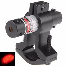 Tactical Red Laser Sight Scope Hunting Airsoft Rail Mount Black Mini Scope