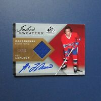 GUY LAFLEUR  2007 2008 UDC SP Inked Sweaters IS-GL SIGNED AUTO # 14/50 Canadiens