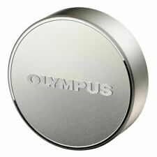 Olympus Official Metal Lens Cap LC-61 Silver for M.ZUIKO 75mm F1.8 from Japan