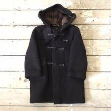 Kids Gloverall Duffle Coat Brown Age 4 Wool Blend