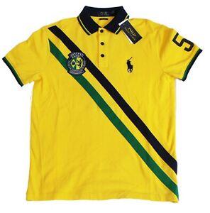 Polo Ralph Lauren Mens Custom Slim Fit Big Pony World Cup Country Shirt NWT