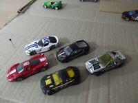 Lote 4 Hot Wheels + 1 Maisto Dogge Viper, Ferrari FXX y F430 Torque twister