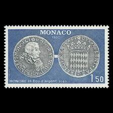 Monaco 1980 - Numismatics Money Coins - Sc 1234 MNH