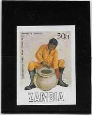 C82 ZAMBIE N°441 NON DENTELE   NEUF**  ARTISANT ET UNE JARRE EN CIMENT