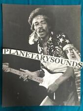 JIMI HENDRIX ON STAGE BLACK AND WHITE PORTRAIT~8.5x11 REPRO~PSYCHEDELIC ACID ROC