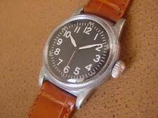 WW2 Era Elgin U.S. Military Issue Wrist Watch ... Type A - 11 ... Hack Set