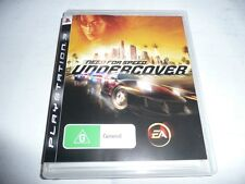NEED FOR SPEED UNDERCOVER PS3 GAME NEW