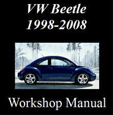 VOLKSWAGEN VW BEETLE 1998-2008 WORKSHOP SERVICE REPAIR MANUAL DIGITAL DOWNLOAD
