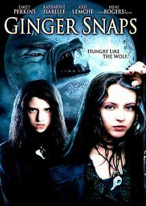 Ginger Snaps - 2000 Horror - Emily Perkins, Katharine Isabelle, Kris Lemche  DVD