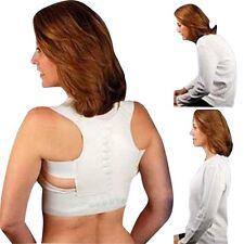 Posture Corrector Support Magnetic Back Shoulder Brace Belt Adjustable Men Women