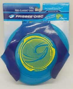 Wham-O Pro-Classic 130g Frisbee Disc Recreation Line U-Flex Blue New & Sealed