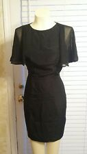 Ted Baker London  Sheath Dress Black Size 0