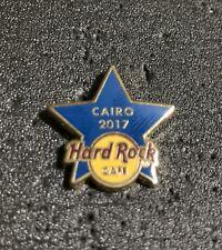 Hard Rock Cafe Cairo Blue Star & Training Star Staff Pin
