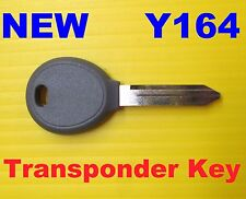 NEW 2004 - 2016 Transponder Chip Key Blank Y164PT Y164 PT 692352 UNCUT