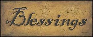 Art Print, Framed or Plaque by John Sliney - Blessings - JON173-R