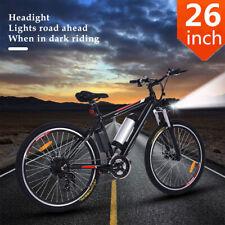 "26"" BICICLETTA ELETTRICA MOUNTAIN BIKE E-Bike Shimano 21-gang Pedelec CITYBIKE 35km/h 1"