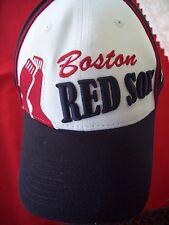 BOSTON RED SOX NEW ERA SPECIAL ONE SIZE VELCRO CAP/HAT- NICE CONDITION (PHOTOS)