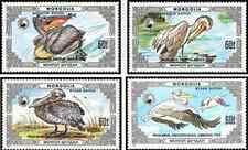 Timbres Oiseaux Mongolie 1481/4 ** lot 19657