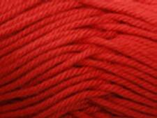 PATONS COTTON BLEND 8PLY YARN 50G BALL - BRIGHT RED #18