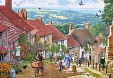 Gibsons Gold Hill Jigsaw Puzzle (100 XXL pieces)