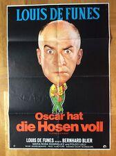Oscar hat die Hosen voll (Kinoplakat '72) - Louis de Funès