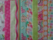 25 JELLY ROLL STRIPS 100% COTTON PATCHWORK FABRIC BIRDWOOD 22 INCH LONG