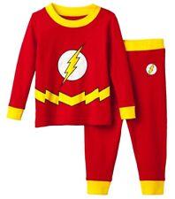74eb8979e7 DC Comics The Flash 2-piece Pajama Set Boys Size 4 6