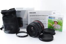 【Used 9/10】RICOH HD PENTAX-DA 35mm F2.8 Macro Limited camera lens