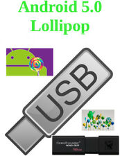 Android USB x86 5.1 Lollipop Bootable 16 Gb Usb 3.0 Linux x86 Live Works on 64Bt