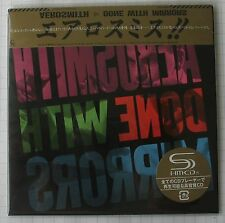 AEROSMITH - Done With Mirrors JAPAN SHM MINI LP CD OBI NEU! UICY-94441
