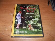 AKC Your New Dog & You A Beginners Guide To Dog Care & Training (DVD 2003) NEW
