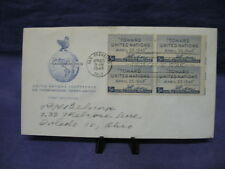 U.N. Conference Of Intl. Org. San Francisco First Day Cover 4/25/1945