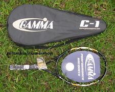 New Gamma C1 C One C-One Tennis Racket 110 1/2 (4) rare last ones 1500 power
