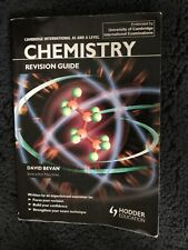 AS & A Level Chemistry Revision Guide By David Bevan