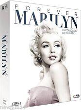 PACK MARILYN BLU RAY 50 ANIVERSARIO MARILYN FOREVER 50º NUEVO ( SIN ABRIR )