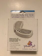 New listing Fountain Filter Replacement 4-Pack by Pioneer Pet (Open Box)