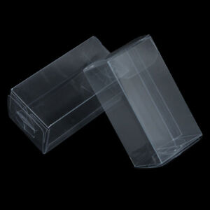 Various Size Clear PVC Box Plastic Wedding Favor Gift Packaging Box Transparent