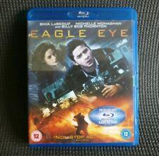 EAGLE EYE (Blu-ray, 2009) Shia LaBeouf, Caruso MINT DISC