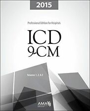 ICD-9-CM 2015 Professional Edition for Hospitals, Vols 1,2&3 BRAND NEW
