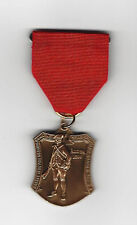 BOY SCOUT THE STAR SPANGLED BANNER TRAIL MEDAL  SOLID RED RIBBON