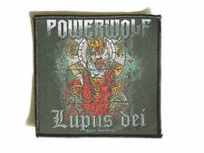 POWERWOLF LUPUS DEI WOVEN PATCH