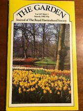 THE GARDEN VOL 107 MARCH 1982 Journal Of The Royal Horticultural Society