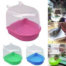 Kit Round Bird Cage Accessories Parrot Bathtub Bath Shower Box Hanging Sale