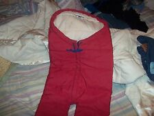 Baby coat Bag 3 months to 2 years nice condition purchased in Alaska made in USA