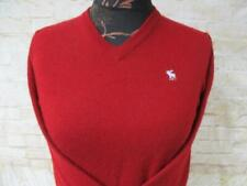"WOMENS ABERCROMBIE & FITCH V-NECK JUMPER SIZE L 42-44"" CHEST / REF X1301"