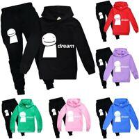 Dream Kids Hoodie+Pants Tops&Trousers Merch Youtuber Gamer Sportwear Outfits Set