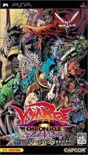 Used PSP Capcom Vampire Chronicle The Chaos Tower SONY PLAYSTATION JAPAN IMPORT