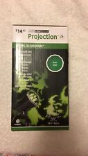 New Gemmy LED Light Show Projection Green Witches Halloween Holiday