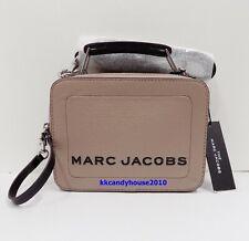 NWT Marc Jacobs The Box 20 Carryall / Crossbody Bag ~ Beige ~M0014840